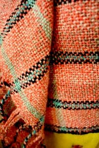 Geweven , woven, gewebt Ashford Heddle Loom